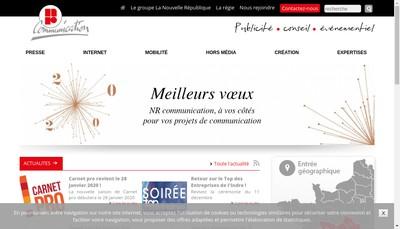 Site internet de NR Communication