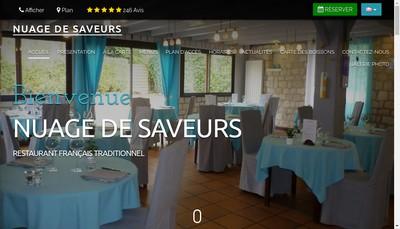 Site internet de Nuage de Saveurs