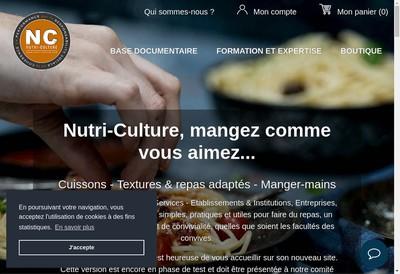 Site internet de Nutri-Culture