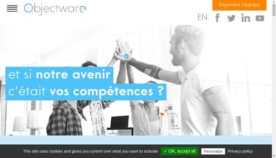 Site internet de Objectware