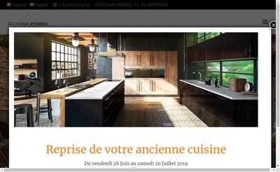 Site internet de Occitanie Pierres