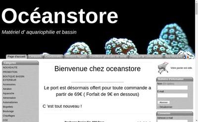 Site internet de Oceanstore