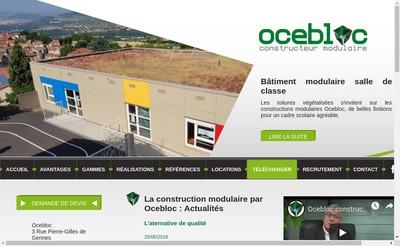 Site internet de Ocebloc