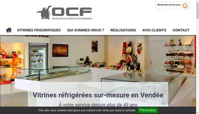 Site internet de Ocf Ouest Construct Frigorifiq