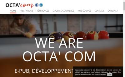 Site internet de Octa'Com