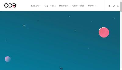 Site internet de Odb