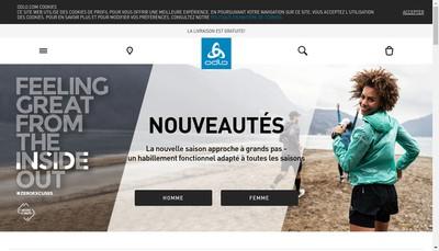 Site internet de Odlo France