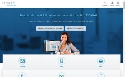 Site internet de Netfax Safefax Net2Fax Fax2Net