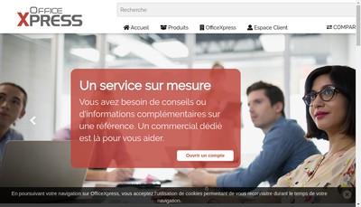 Site internet de Officexpress Fr