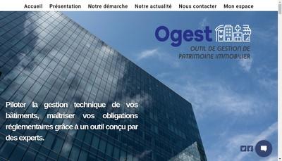 Site internet de Ogest
