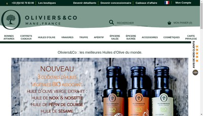 Site internet de Oliviers & Co
