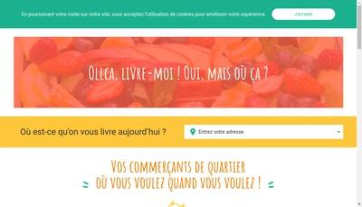 Site internet de Les Vergers Dupre