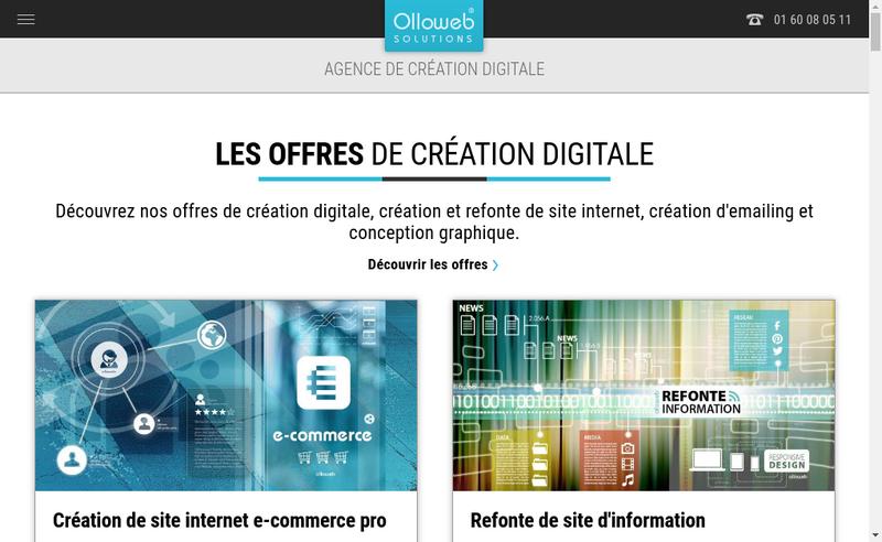 Capture d'écran du site de Frederic Bridoux