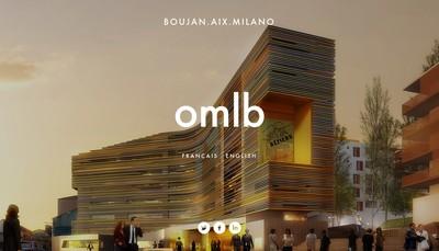 Site internet de Omlb Architecture
