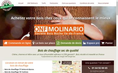 Site internet de Onf Molinario