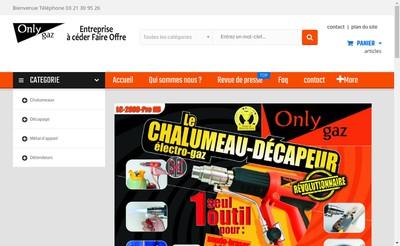 Site internet de Onlygaz