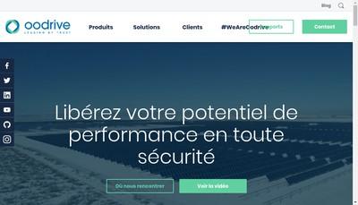 Site internet de Oodrive