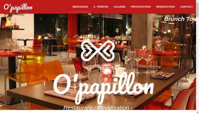 Site internet de O'Papillon