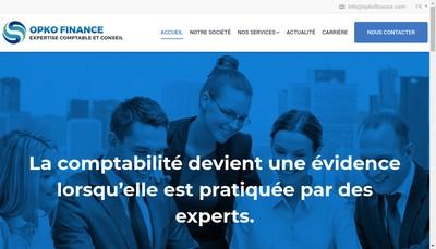 Site internet de Opko Finance
