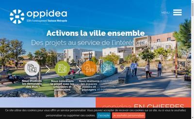 Site internet de Oppidea