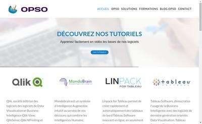 Site internet de Opso