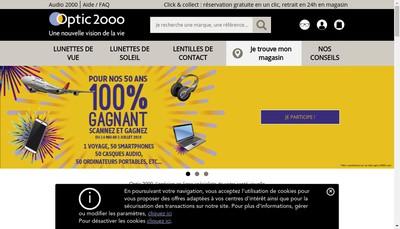 Site internet de Audioptic Trade Services