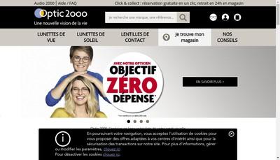 Site internet de Gadol Optic 2000