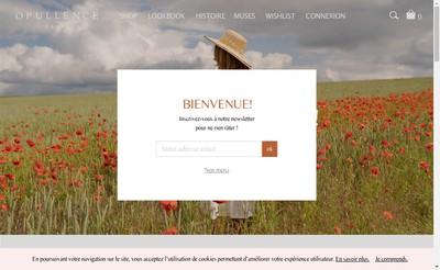 Site internet de Opull'Ence