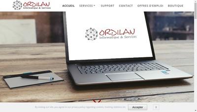 Site internet de Ordilan