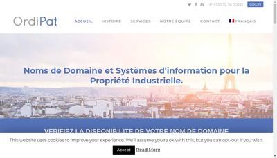 Site internet de Rapidomaine