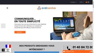 Site internet de Ordissimo