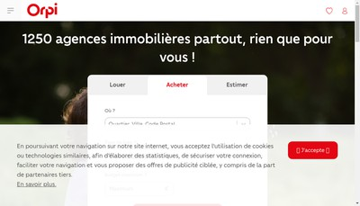 Site internet de Agence Mylene Murano