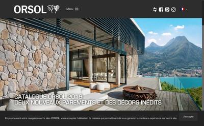 Site internet de Orsol Holding