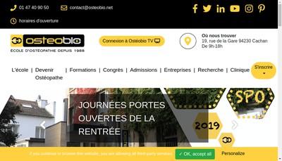 Site internet de Societe d'Enseignement de la Mecanique du Vivant