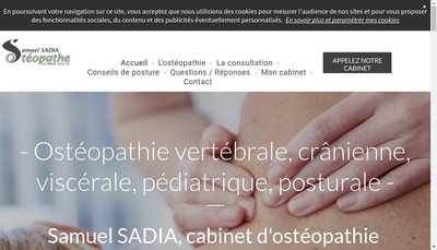 Site internet de Samuel Sadia
