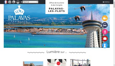 Site internet de Office Municipal Tourisme
