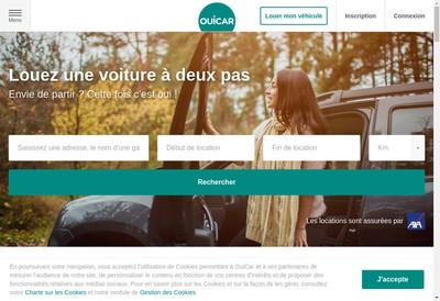 Site internet de Ouicar