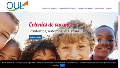 Site internet de Oeuvre Universitaire du Loiret