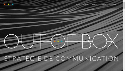 Site internet de Out Of Box