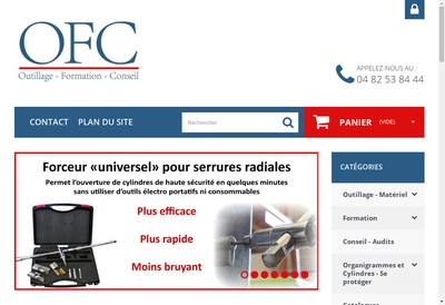 Site internet de Ofc