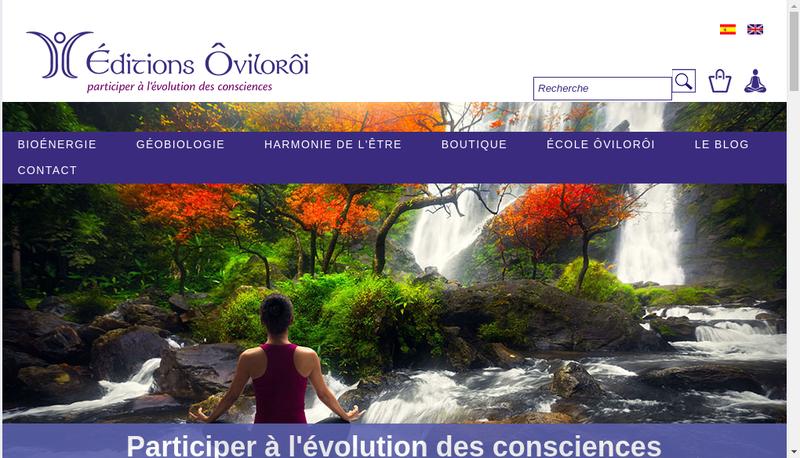 Capture d'écran du site de Oviloroi