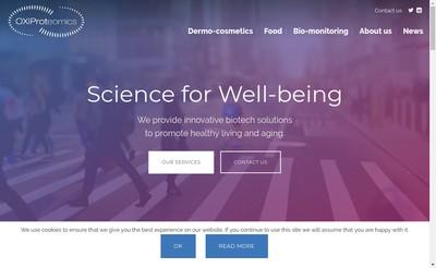 Site internet de Oxiproteomics