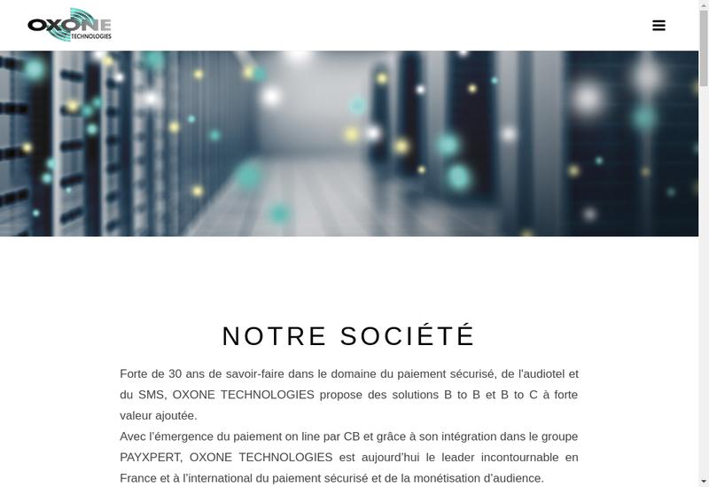 Capture d'écran du site de Sogecom - Gre Developpement - Greno