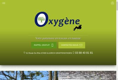 Site internet de Oxygene