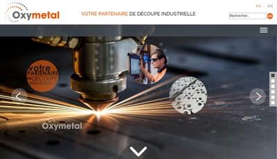 Site internet de Oxymetal Sud Ouest