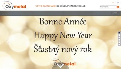 Site internet de Oxymetal Champagne