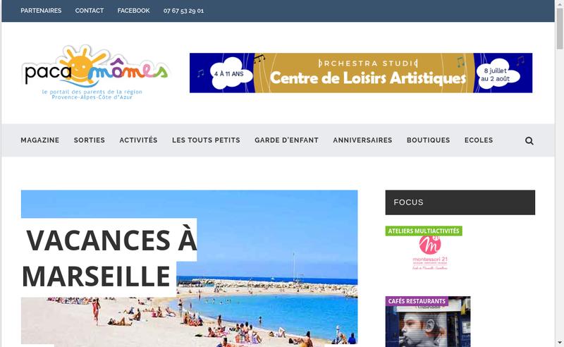 Capture d'écran du site de Midiaminuit