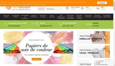 Site internet de Cartondiscount Fr