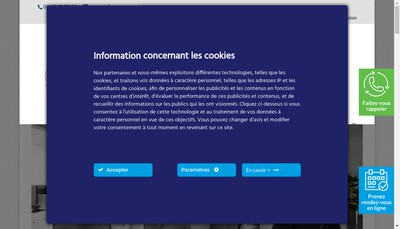 Site internet de Pagny Associes