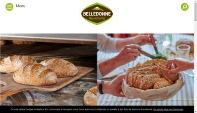 Site internet de Le Pain de Belledonne